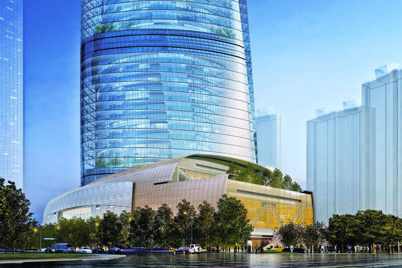 un socle tr s anim shanghai tower la deuxi me plus haute tour du monde plus pr s des. Black Bedroom Furniture Sets. Home Design Ideas
