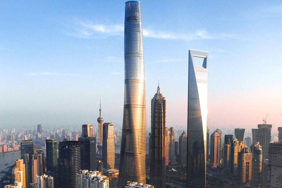 Shanghai tower la deuxi me plus haute tour du monde plus pr s des nuages - Projet tour la plus haute du monde ...