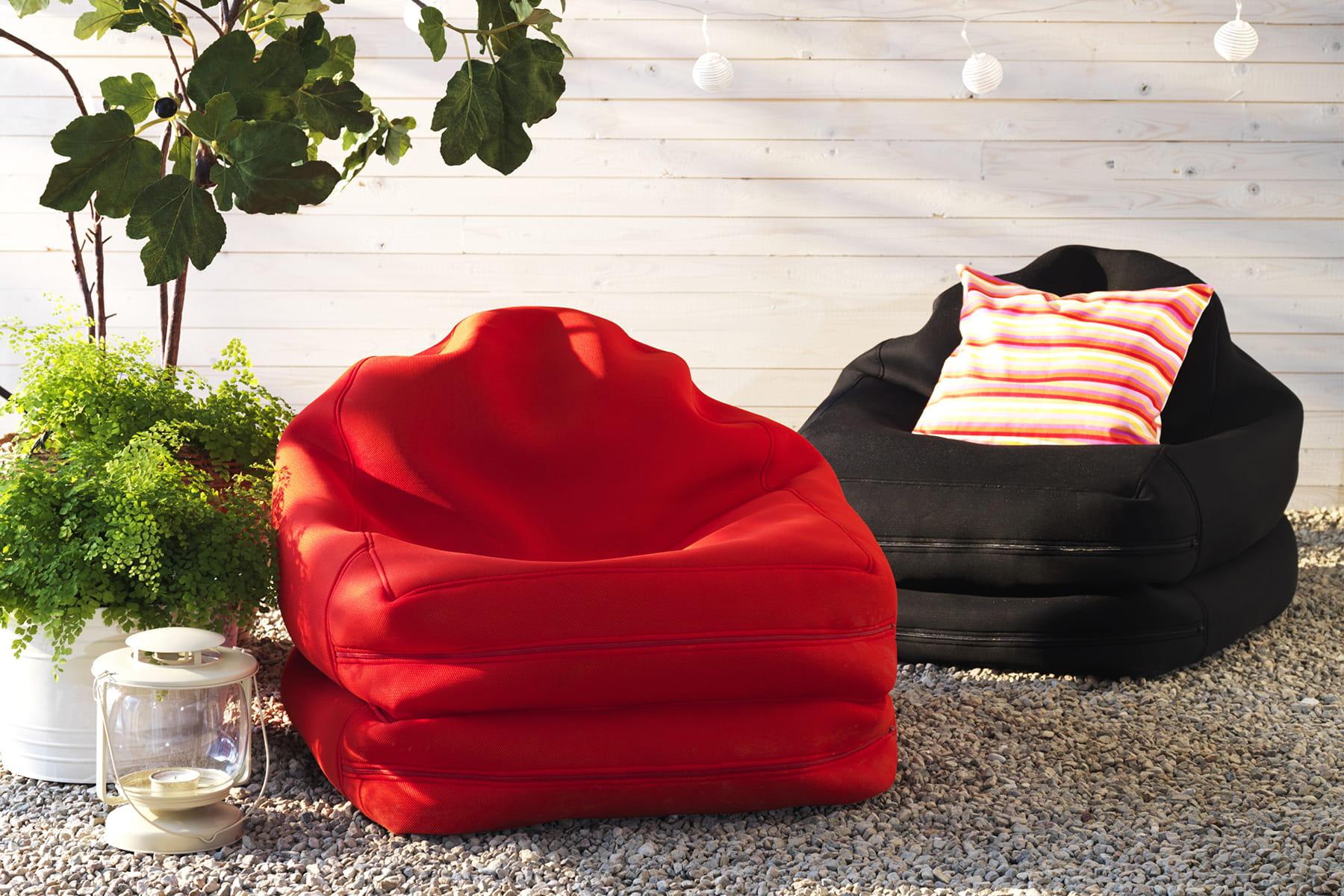 Un fauteuil poire original beaux et confortables ces fauteuils n 39 atten - Fauteuil original salon ...