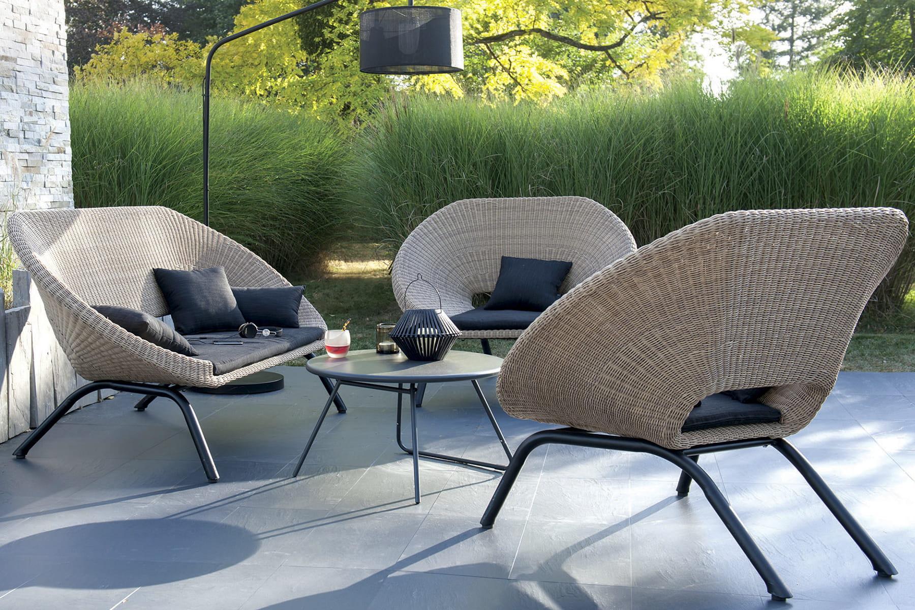 un salon d 39 int rieur et d 39 ext rieur beaux et. Black Bedroom Furniture Sets. Home Design Ideas