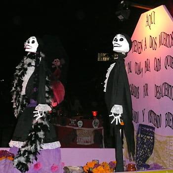 le jour des morts, c'est la fête !