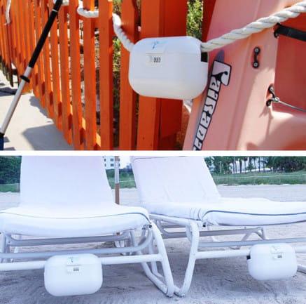 un vide poche pour la plage. Black Bedroom Furniture Sets. Home Design Ideas