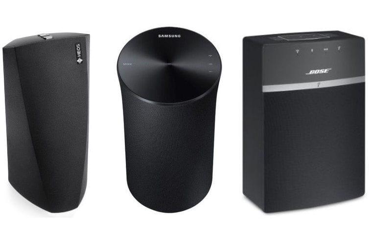 10 enceintes multiroom pour couter de la musique dans toute la maison linternaute. Black Bedroom Furniture Sets. Home Design Ideas