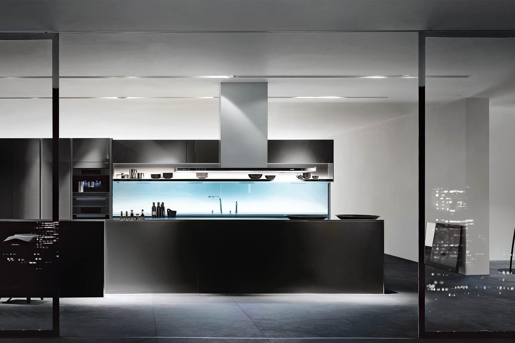la cuisine du futur des cuisines avec verri re qui en jettent linternaute. Black Bedroom Furniture Sets. Home Design Ideas