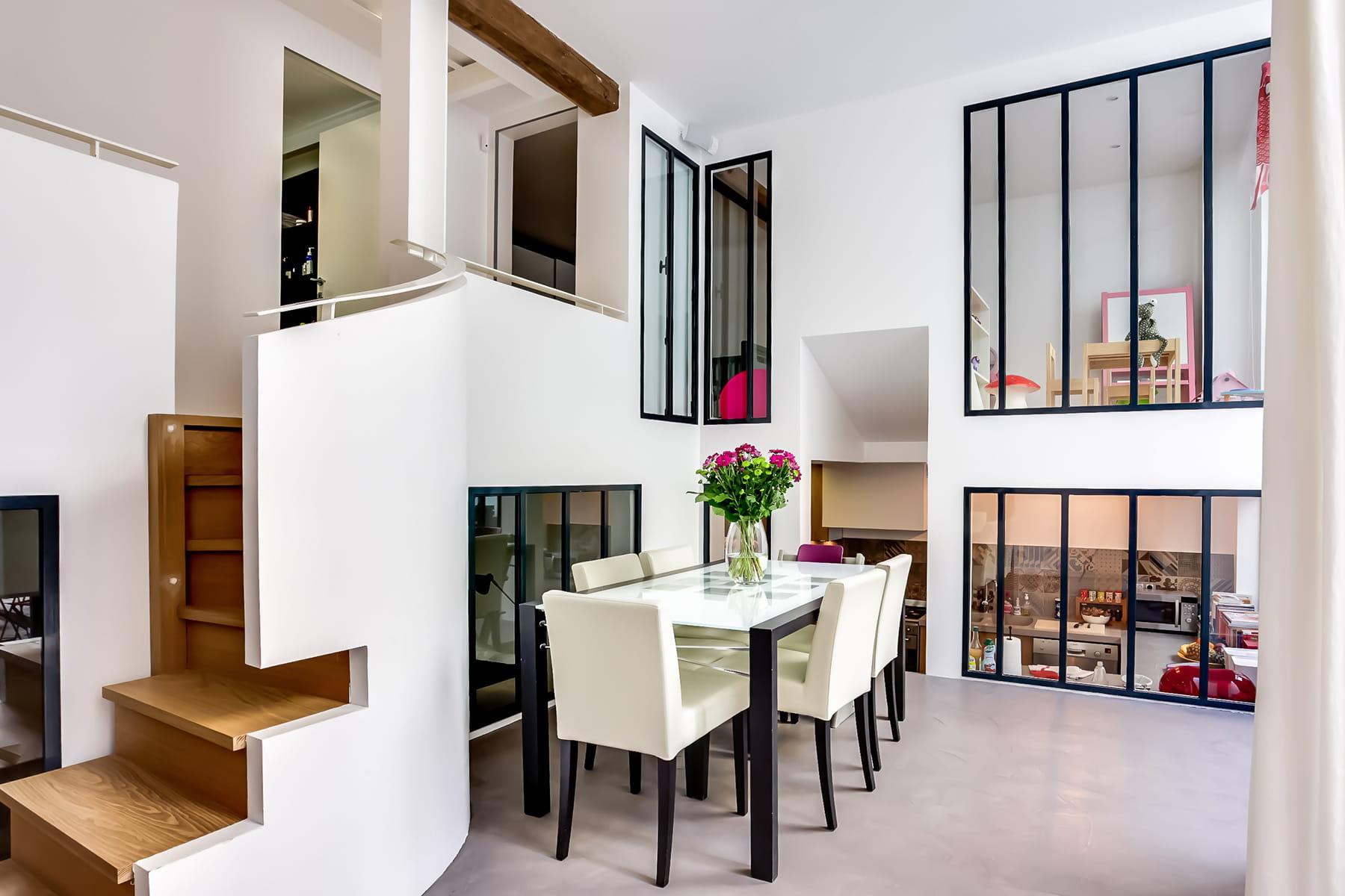 clairer toute la maison avec une verri re des cuisines. Black Bedroom Furniture Sets. Home Design Ideas