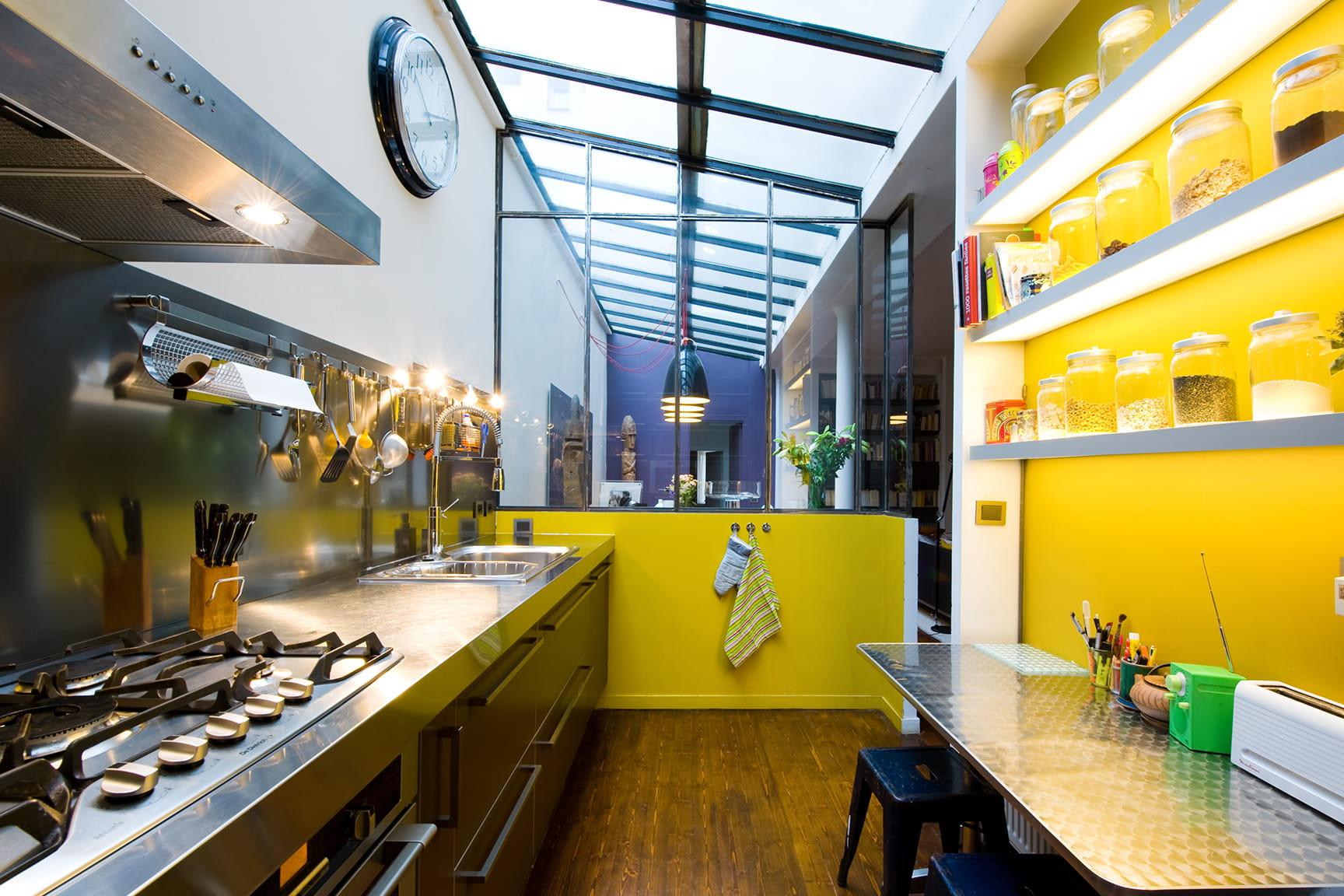 Des cuisines avec verri re qui en jettent - Cuisine avec verriere ...