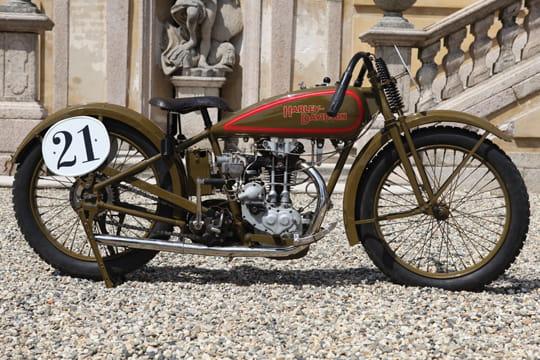 1928 Harley Davidson Ohv 350cc Peashooter: Harley-Davidson Peashooter OHV De 1925 : Vente Aux