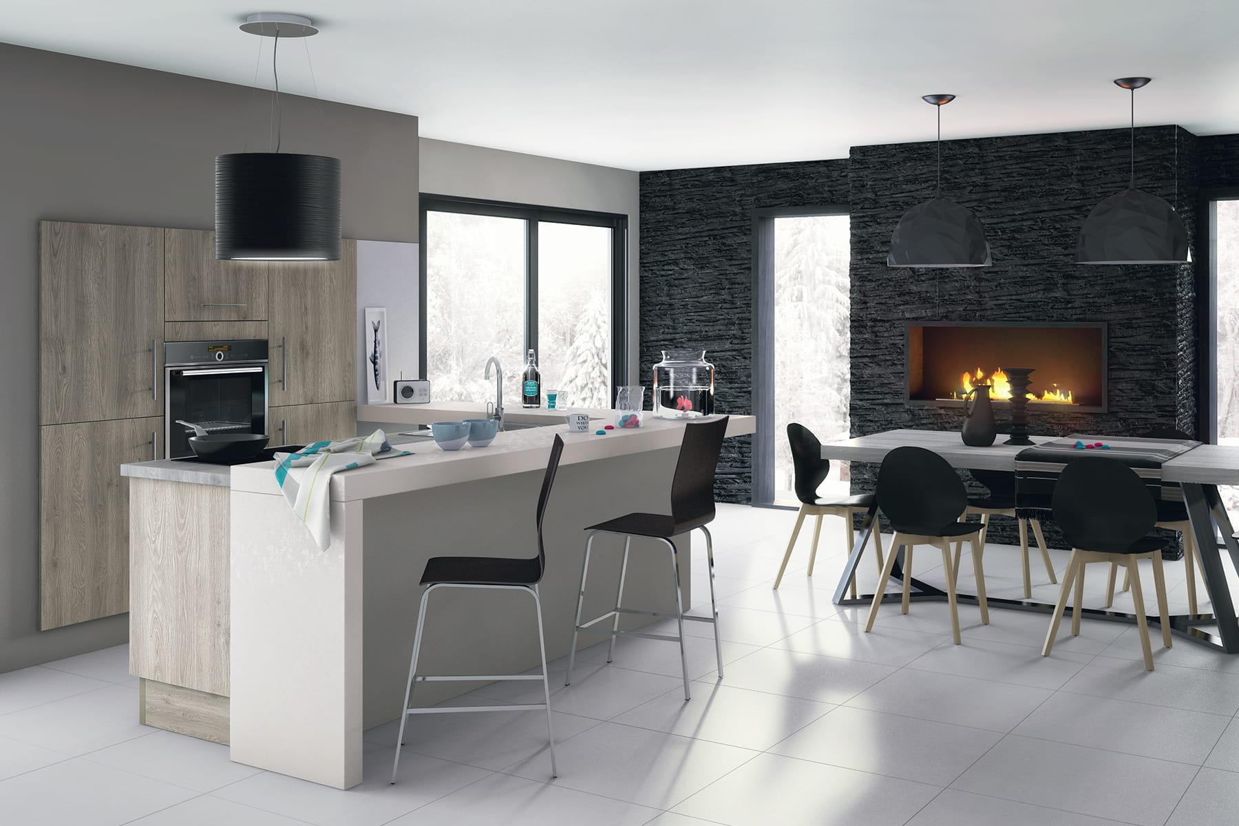 Modele salle de bain lapeyre for Cuisine bistro lapeyre