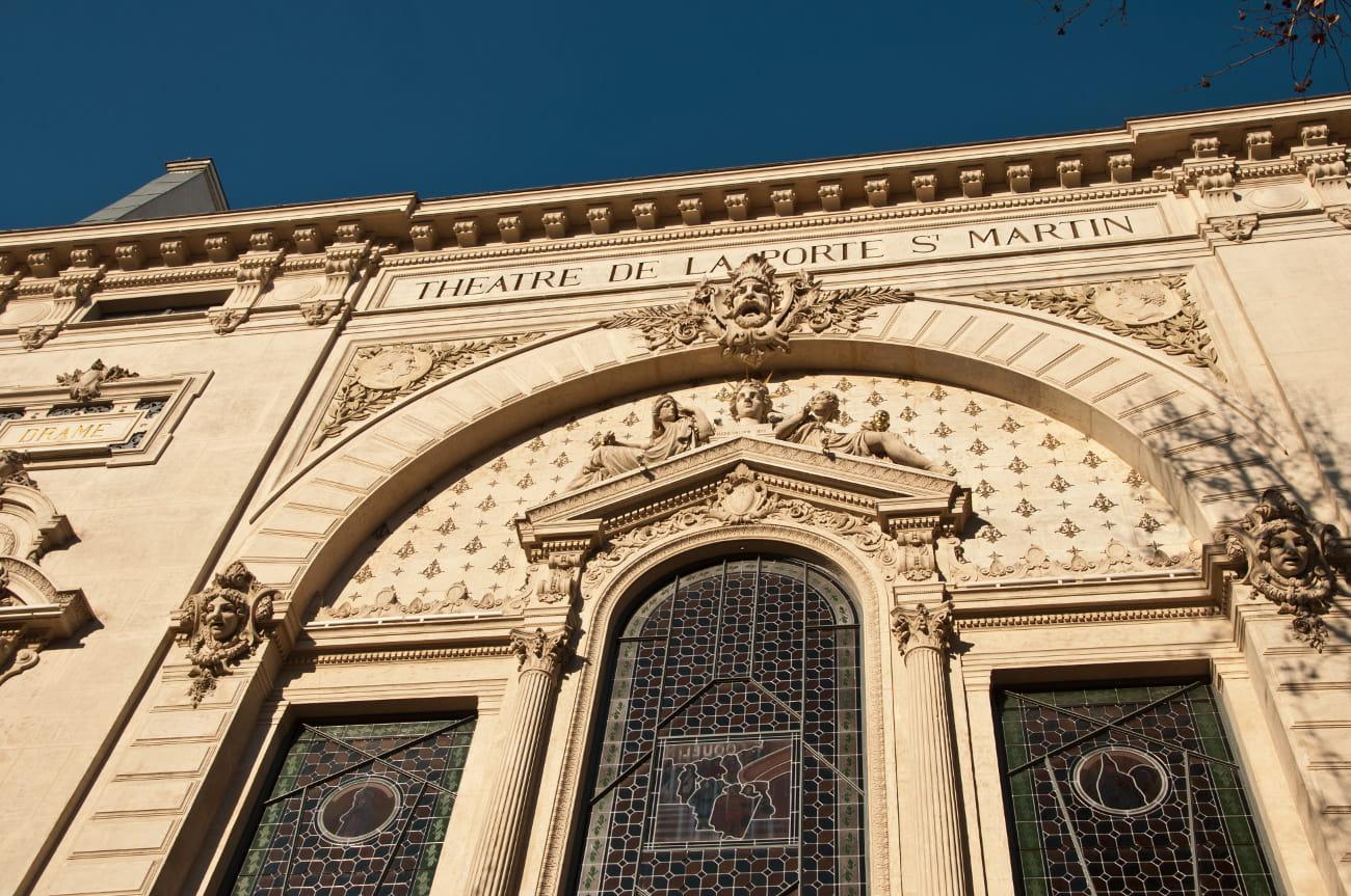Le th tre de la porte saint martin juliette drouet et - Petit theatre de la porte saint martin ...
