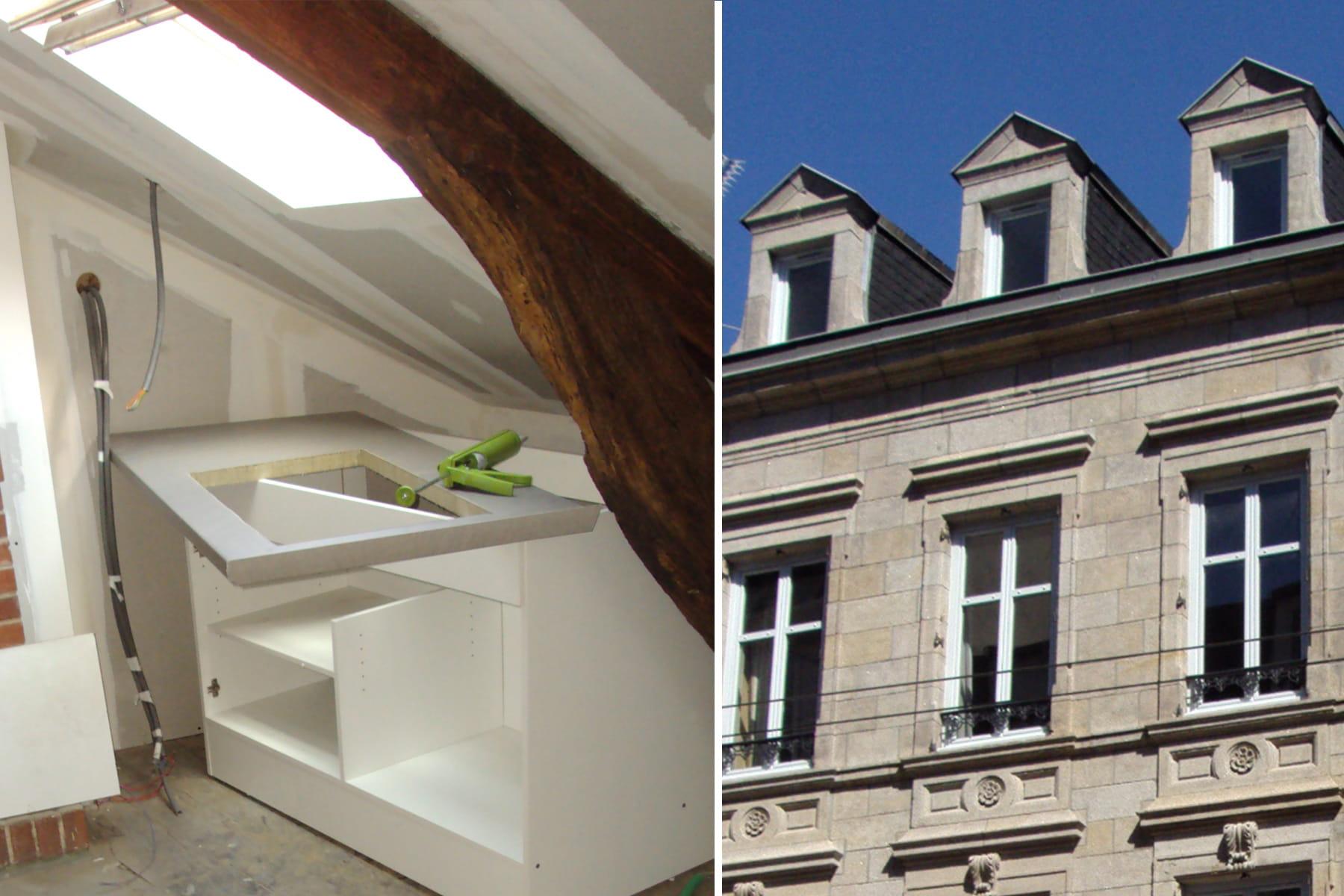 la r novation de la toiture la r novation d 39 une maison belle epoque linternaute. Black Bedroom Furniture Sets. Home Design Ideas