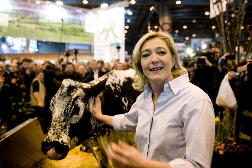Marine le pen au salon de l 39 agriculture une visite de 10 - Billet pour le salon de l agriculture ...