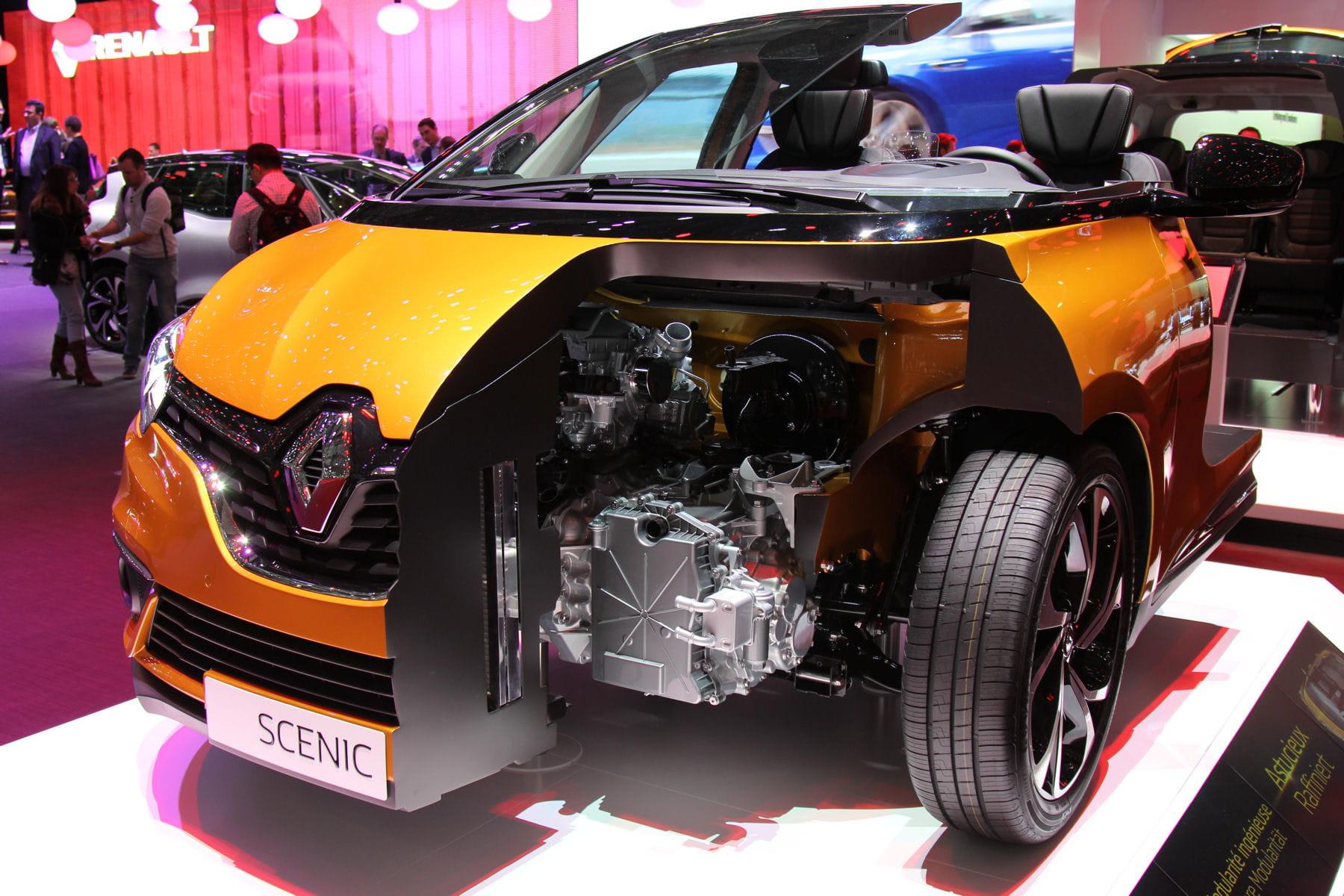 un moteur hybride fin 2016 le nouveau renault sc nic 4 sous toutes les coutures linternaute. Black Bedroom Furniture Sets. Home Design Ideas