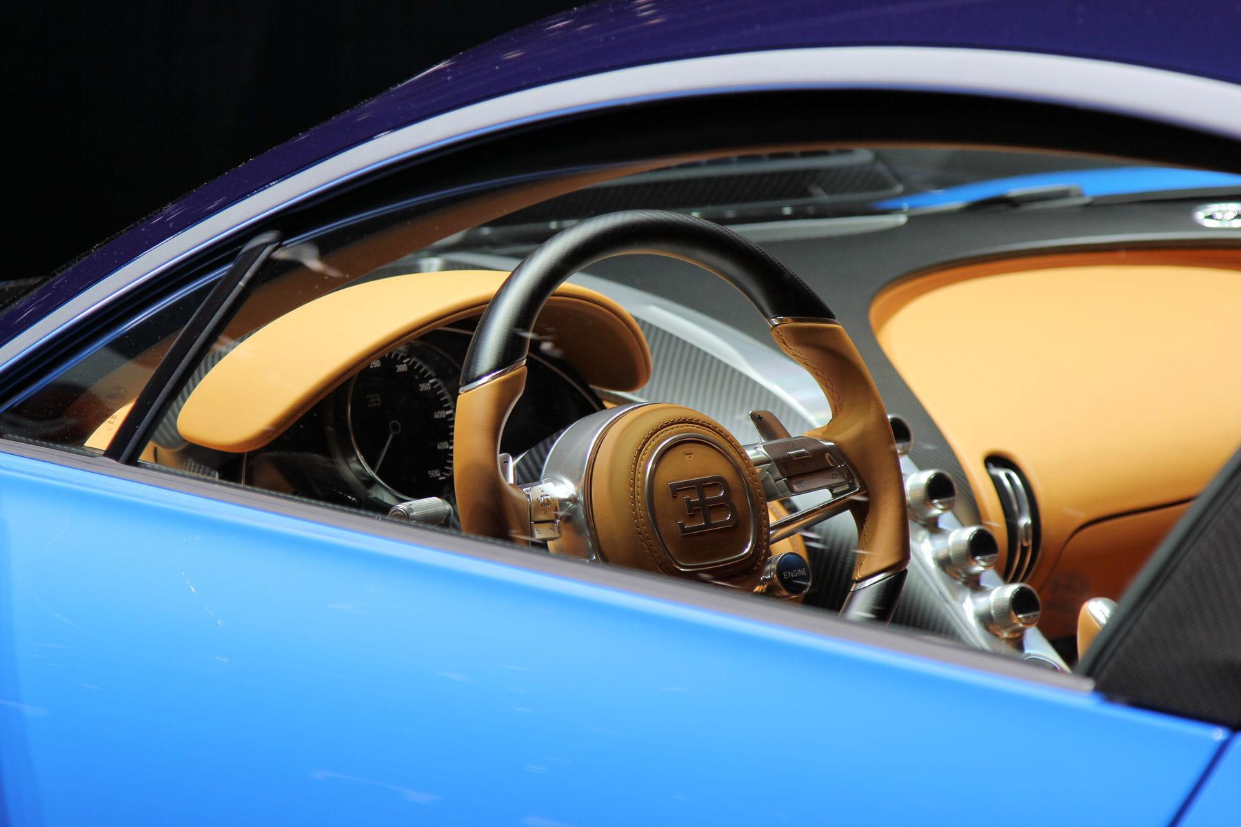 Un int rieur personnalisable for Interieur bugatti chiron
