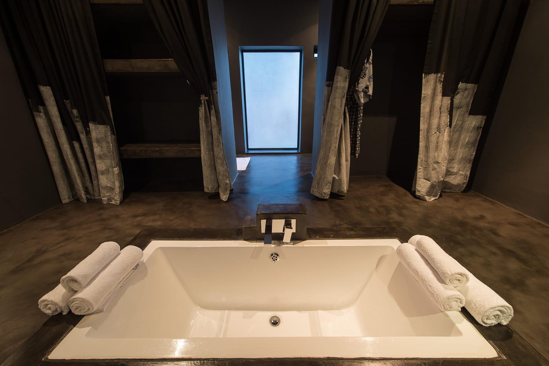 Une ambiance tamis e des salles de bains qui font r ver - Rever de salle de bain ...