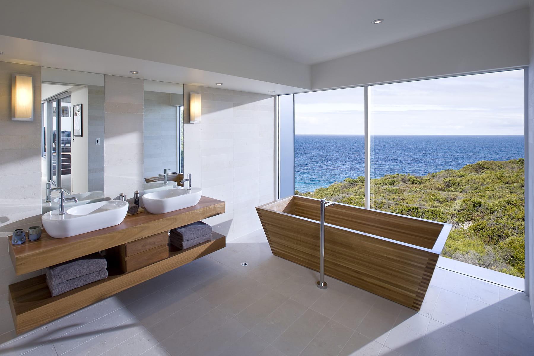 Evasion l 39 autre bout du monde des salles de bains qui - Rever de salle de bain ...