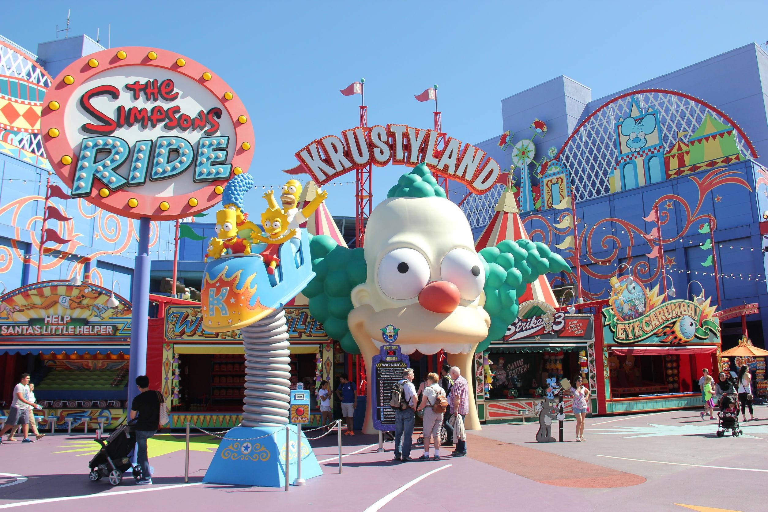 Universal Studios Hollywood Los Angeles Californie