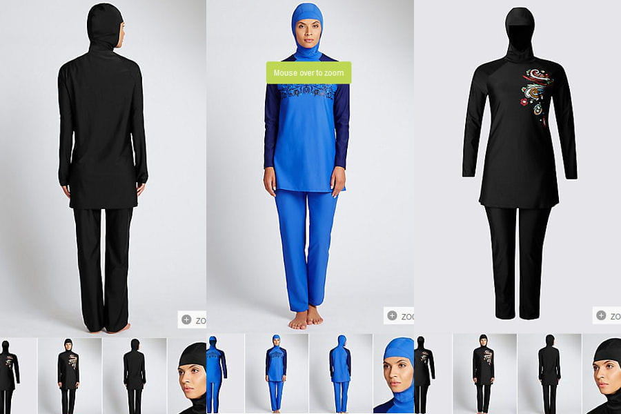 burkini entre burqa et bikini le maillot de bain. Black Bedroom Furniture Sets. Home Design Ideas