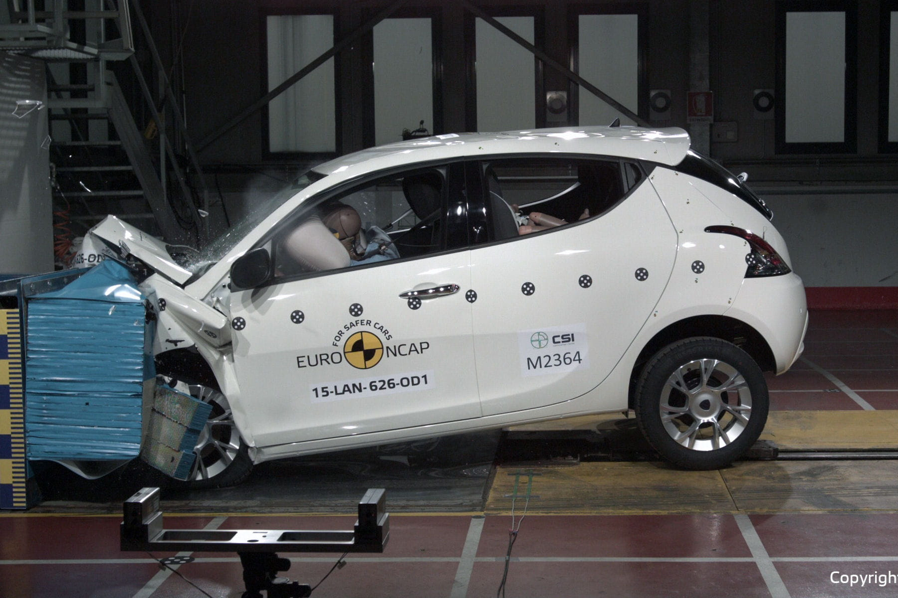 crash tests les pires voitures au classement euro ncap lancia ypsilon linternaute. Black Bedroom Furniture Sets. Home Design Ideas