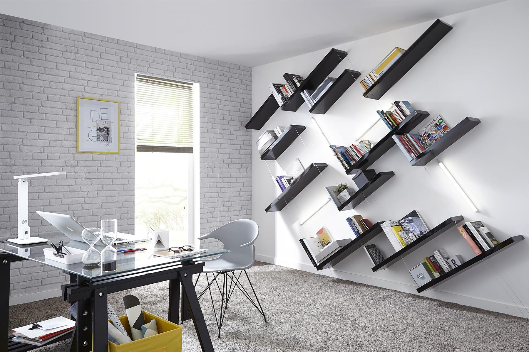 concevoir sa propre biblioth que sur mesure. Black Bedroom Furniture Sets. Home Design Ideas