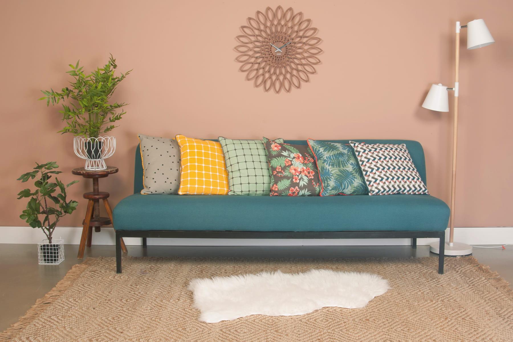 Gayez votre sofa avec de jolis coussins - Gros coussin de canape ...