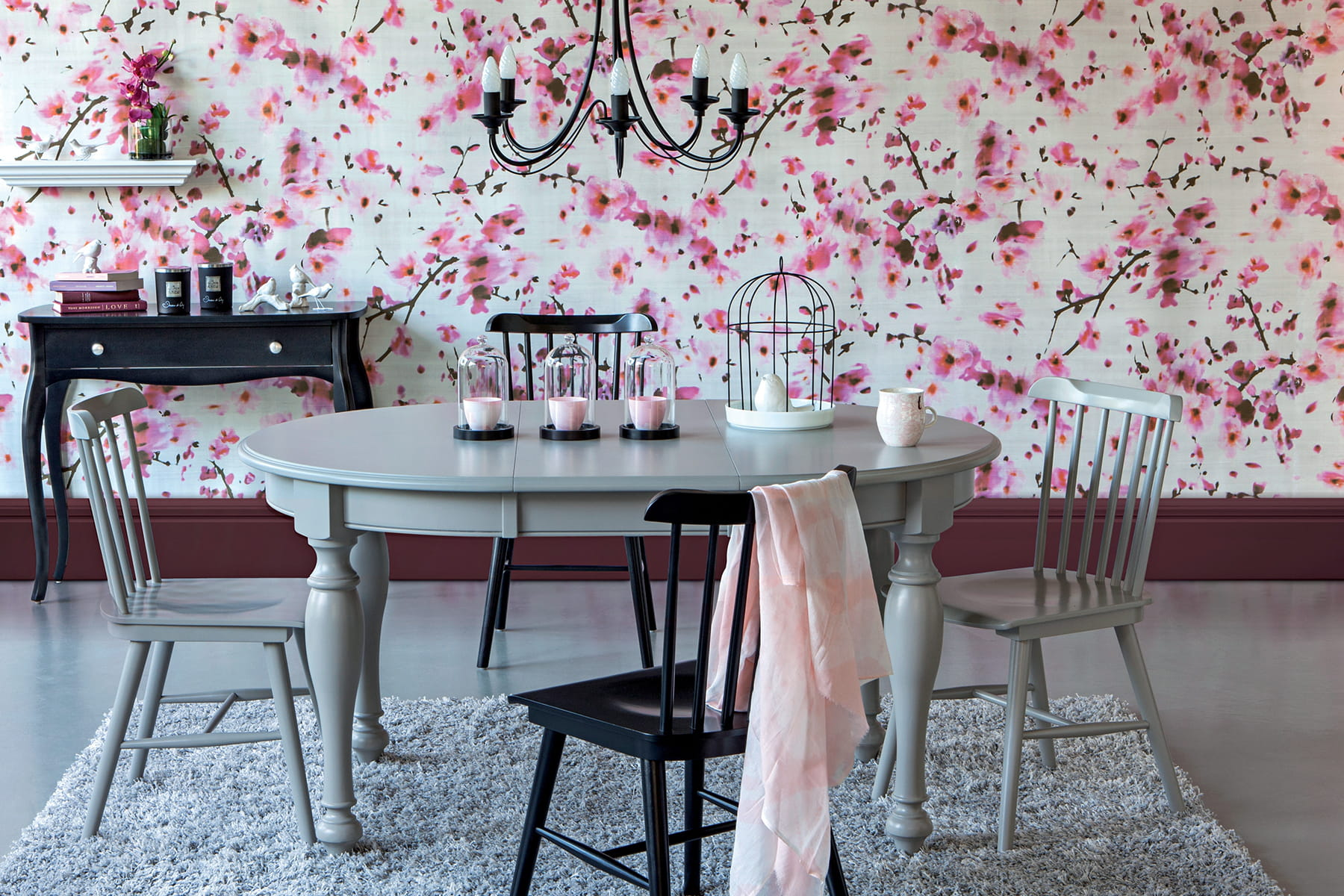 Pour les ternels romantiques 20 belles tables de salle for Les plus belles tables a manger