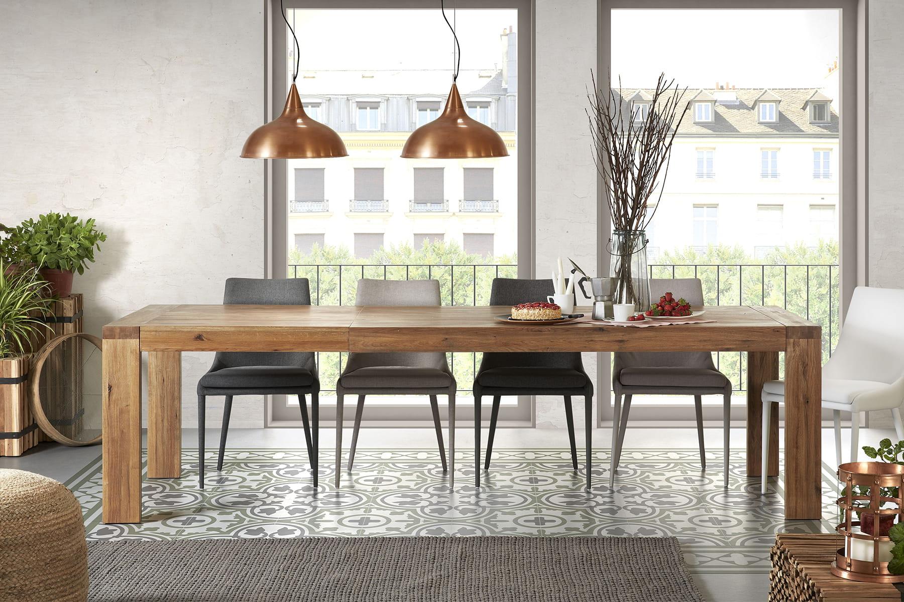 Le compromis de la table extensible 20 belles tables de for Les plus belles tables a manger