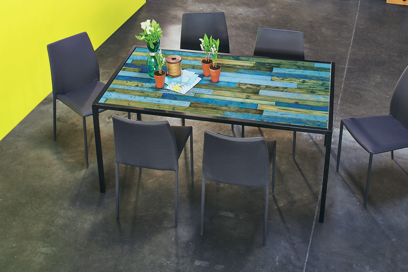 20 belles tables de salle manger linternaute for Recherche table de salle a manger