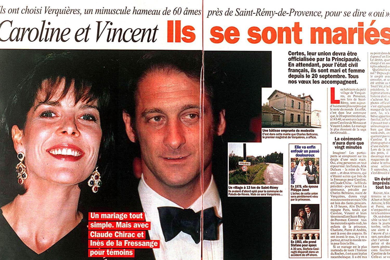 Caroline de Monaco et ... Vanessa Paradis Forum