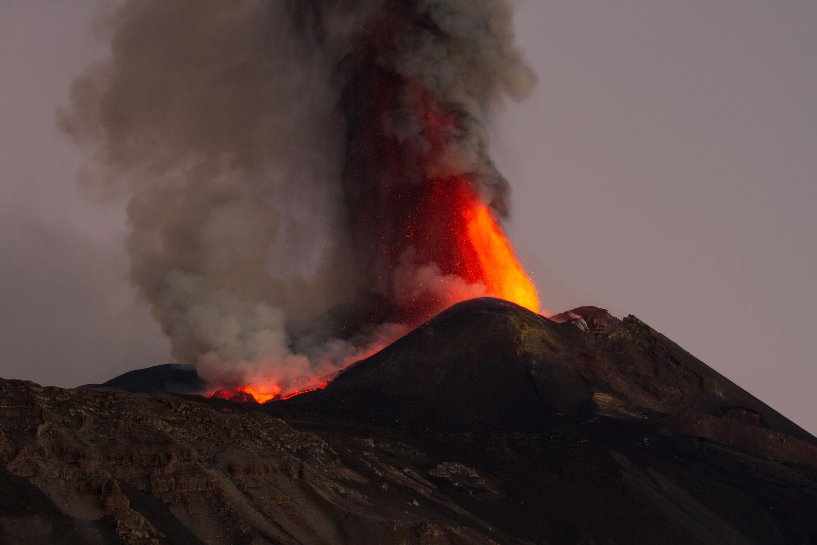 volcan etna sicile