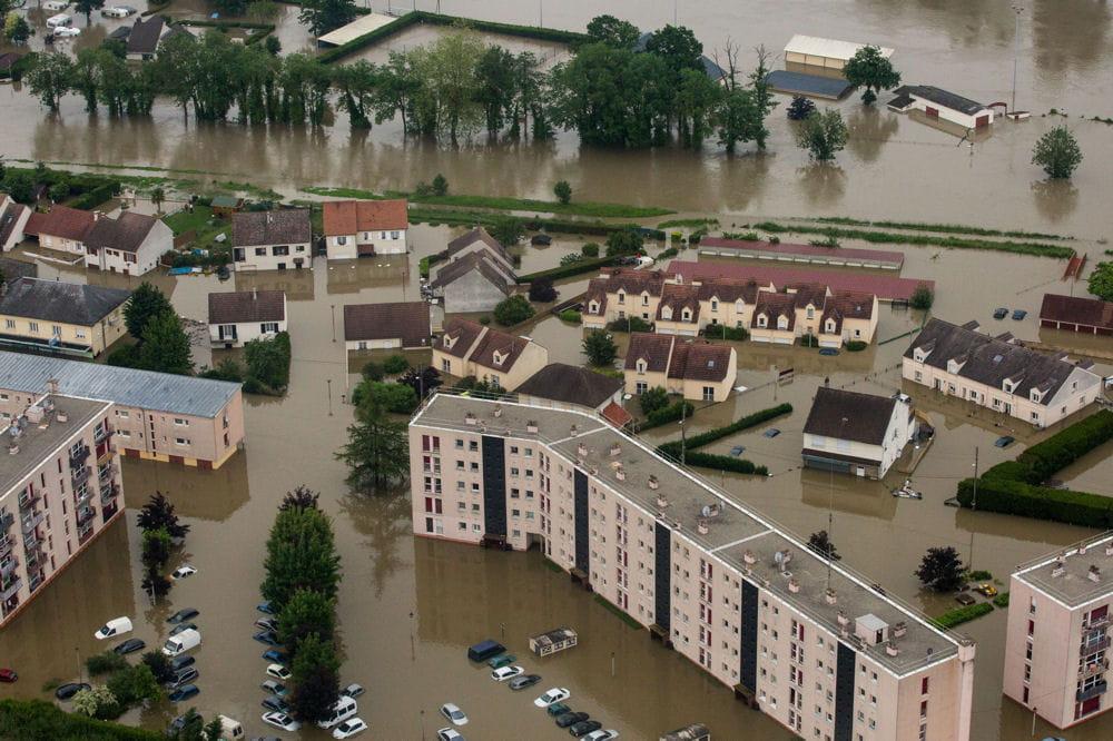 Inondations D 233 Crue 224 Paris Rouen En Seine Maritime