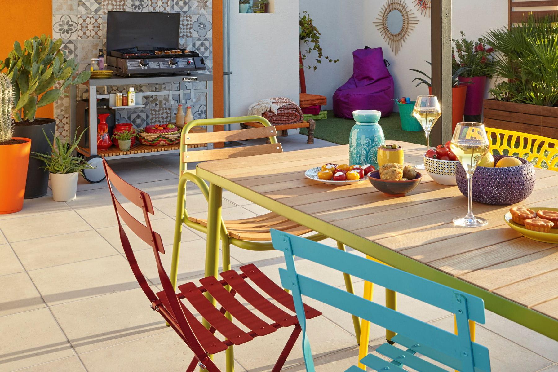 des id es d co pour am nager son balcon ou sa terrasse. Black Bedroom Furniture Sets. Home Design Ideas