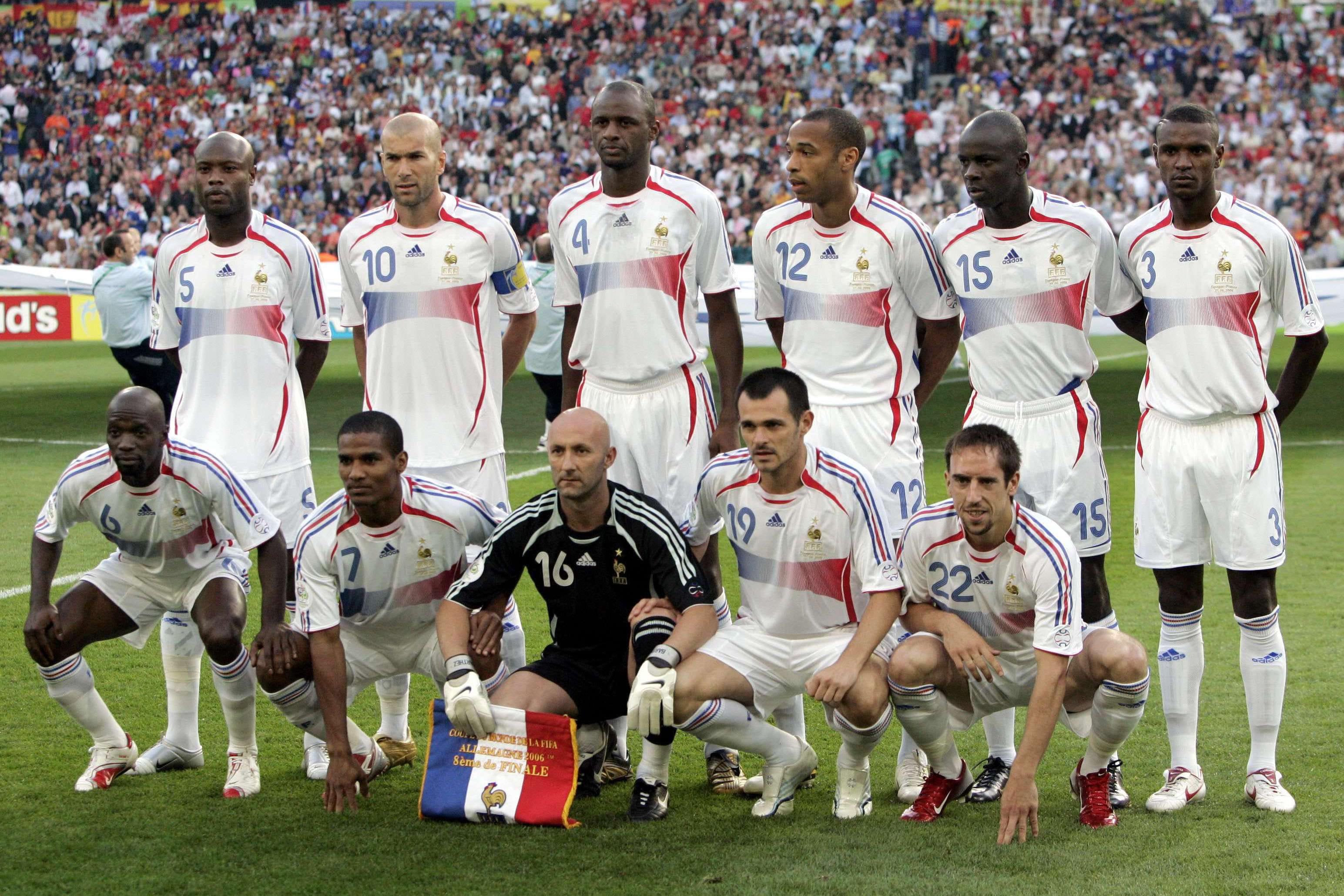 Des bleus revenus de loin - Coupe du monde de foot 2006 ...
