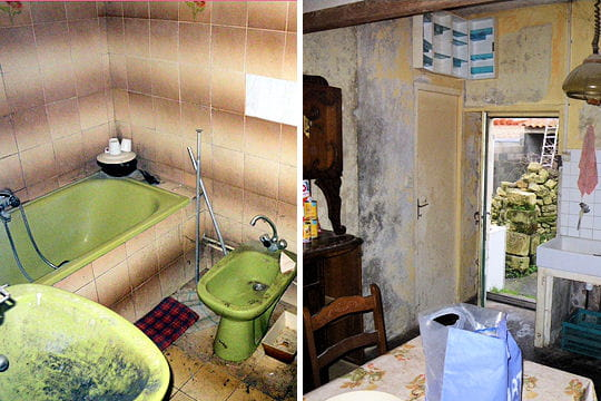 suppression de l 39 ancienne salle de bains. Black Bedroom Furniture Sets. Home Design Ideas