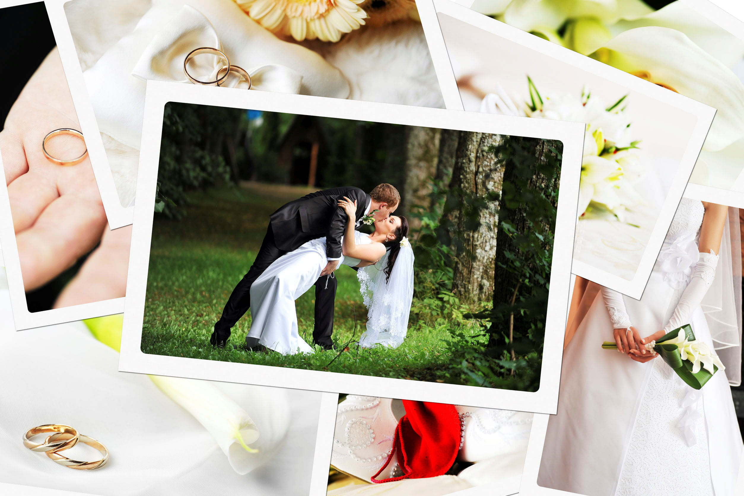 les photos de mariage font souvent lobjet de collages photo cratifs denis tabler 123rf - Montage Video Mariage Gratuit