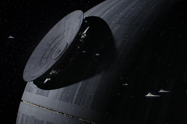 L 39 etoile noire en construction - L etoile noire star wars ...