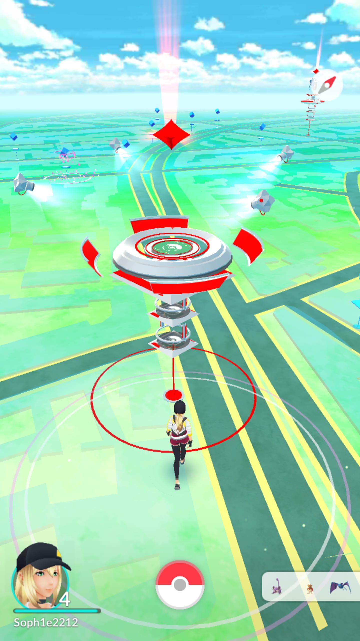 Pok mon go notre guide pour devenir le meilleur dresseur - Sulfura pokemon rouge ...