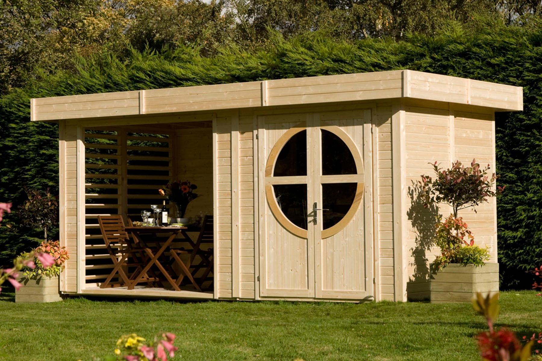 Des abris et cabanes de jardin modernes et d co linternaute - Abris de jardin original ...