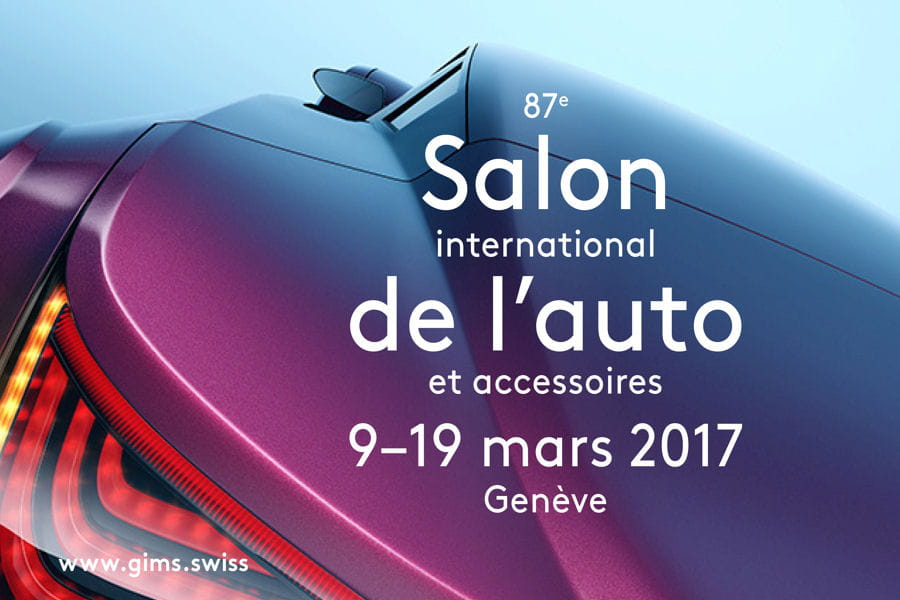 Salon de gen ve 2017 l 39 affiche et les dates connues - Salon de l auto geneve ...