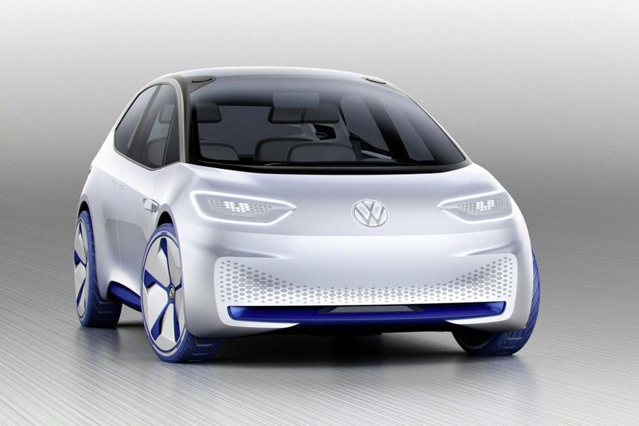 Volkswagen id la voiture du futur est au salon de paris for Salon de l auto de paris