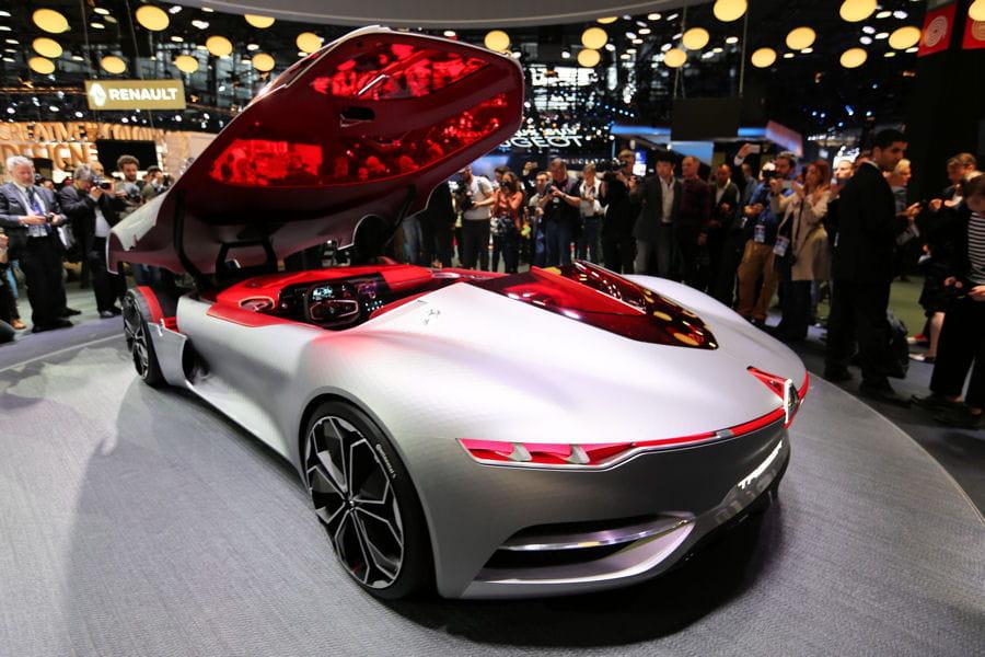 mondial de l 39 auto 2016 direct renault trezor volkswagen id les nouveaut s en photos. Black Bedroom Furniture Sets. Home Design Ideas