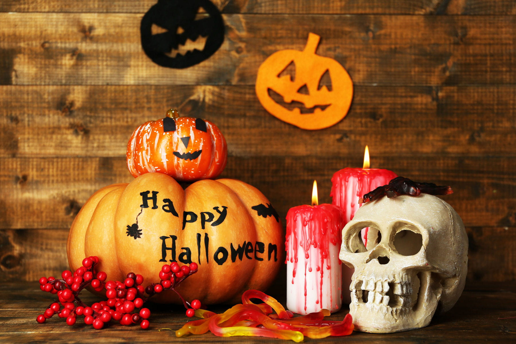 Halloween nos id es rep r es sur pinterest pour une d co for Decoration murale halloween