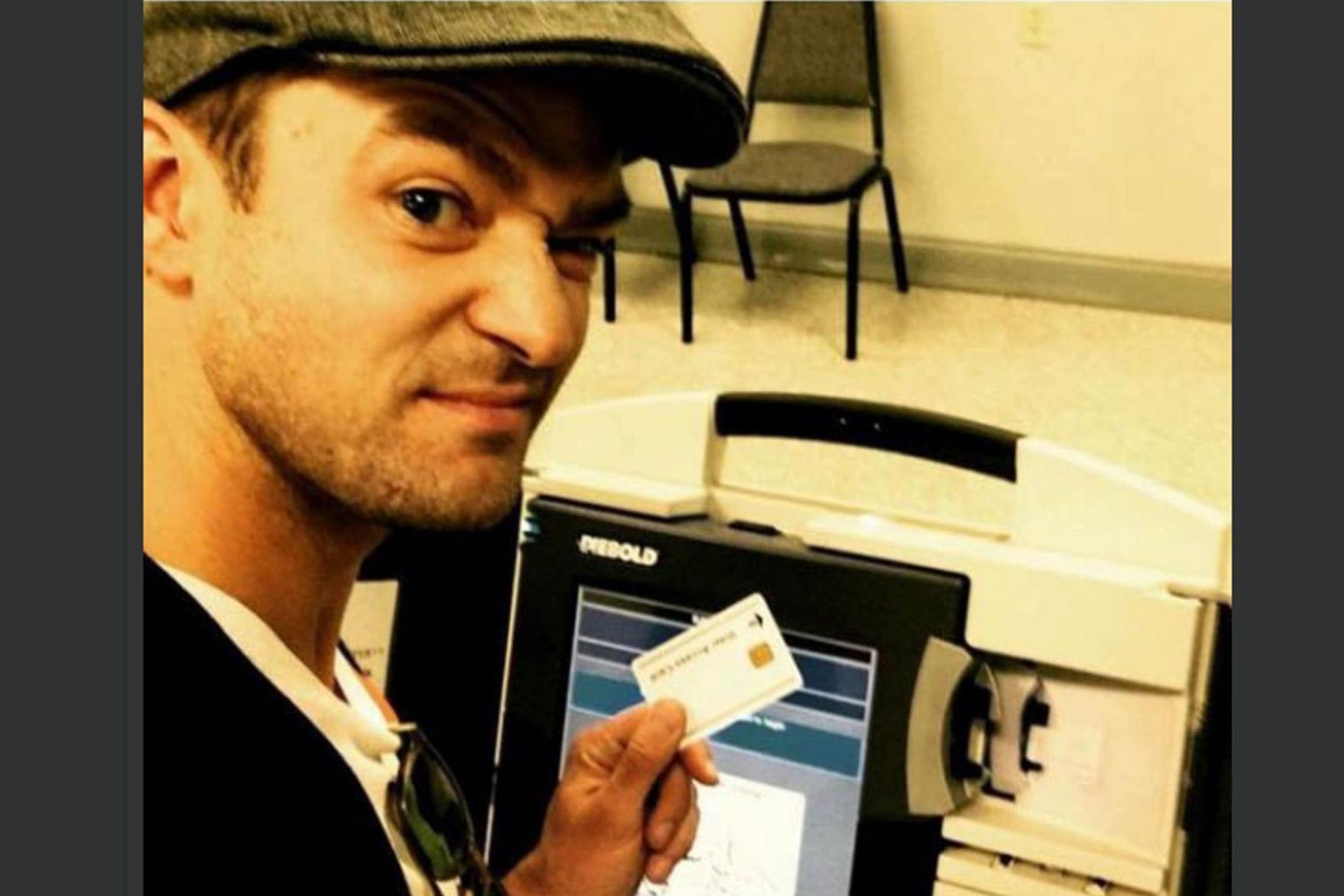 Justin Timberlake risque la prison pour un selfie !