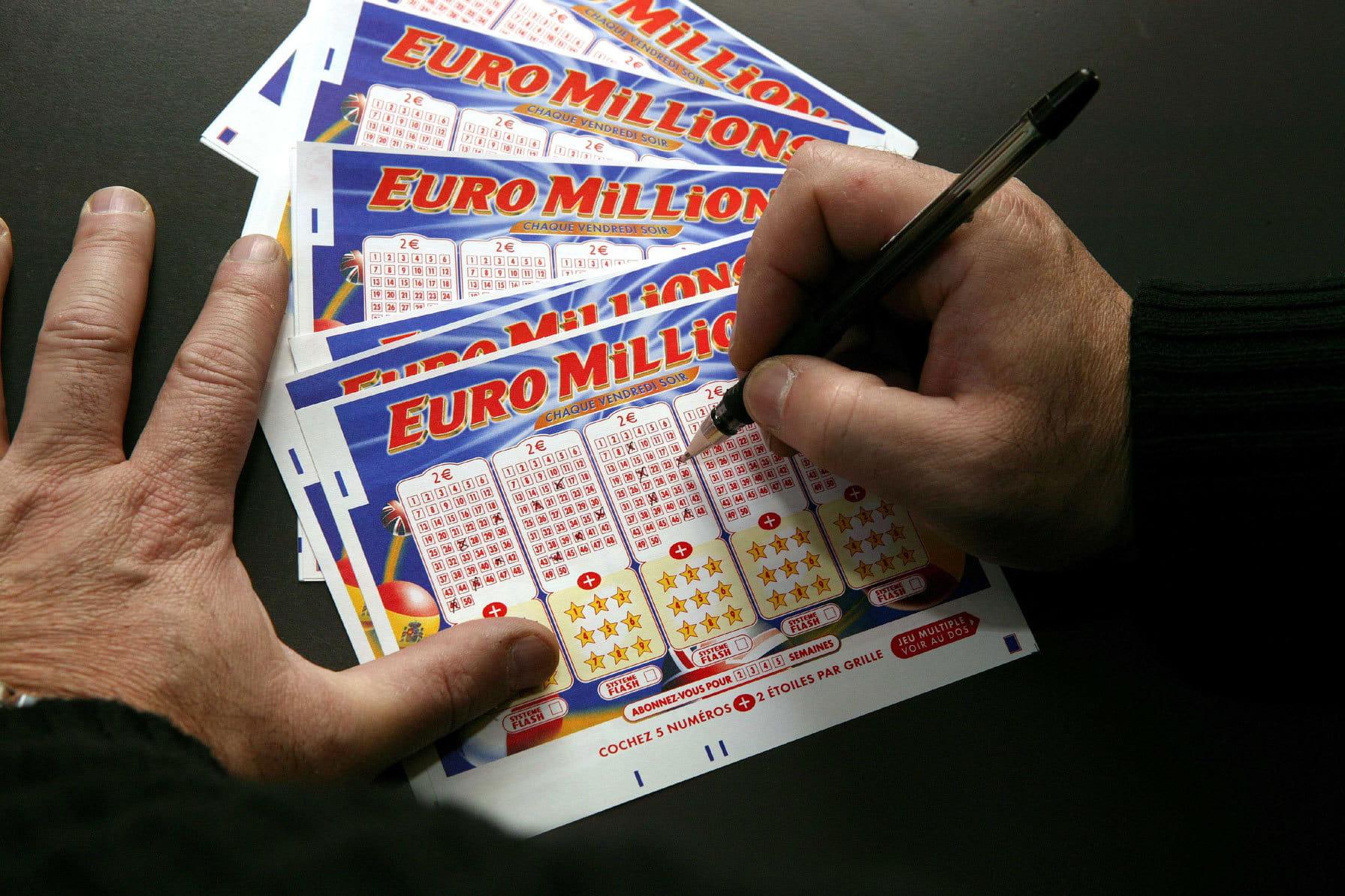 actualite societe  resultat euromillion my million fdj le tirage du vendredi octobre millions d euros et en jeu
