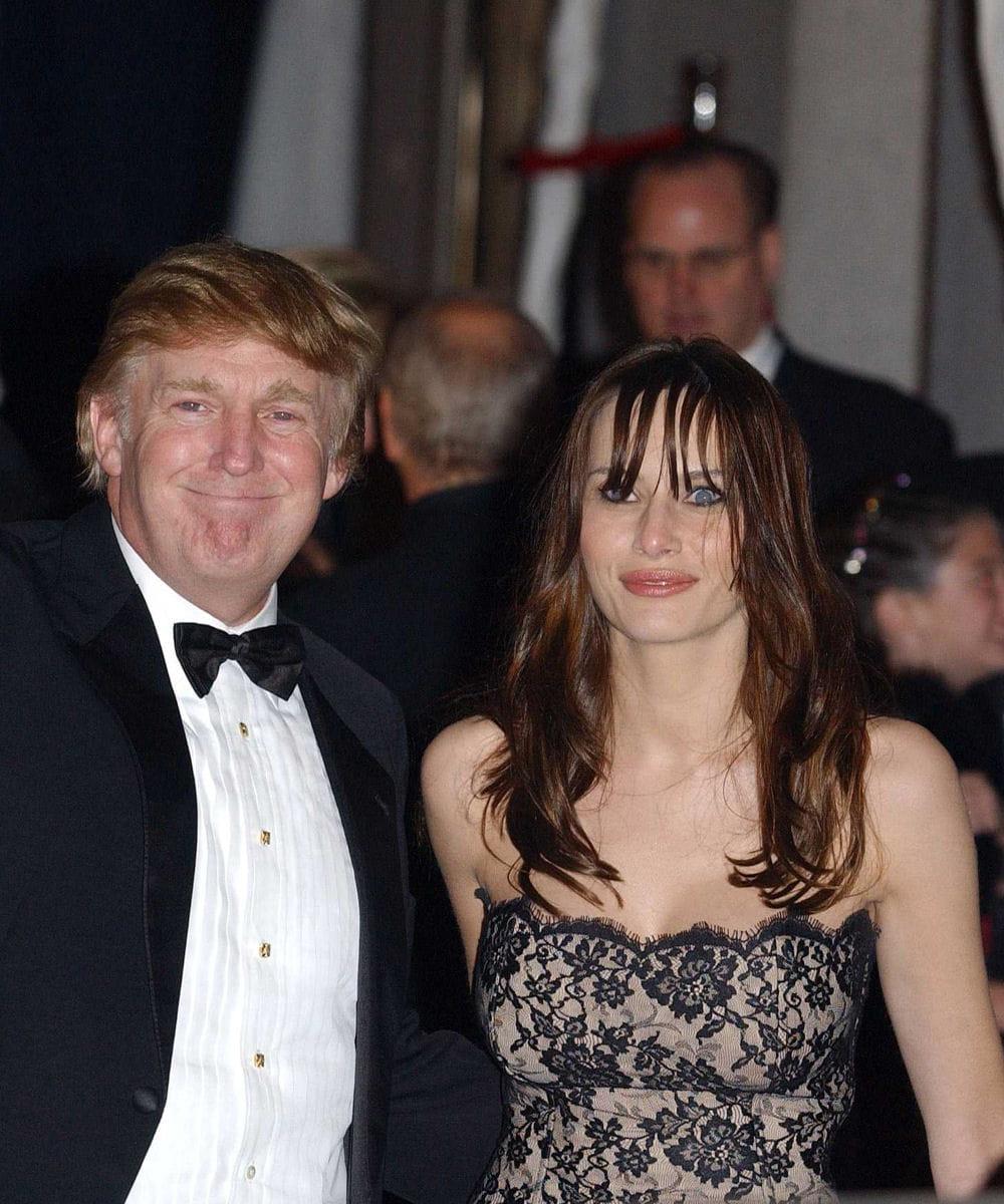 Il na rien payé pour la bague de mariage : Donald Trump : perles et ...