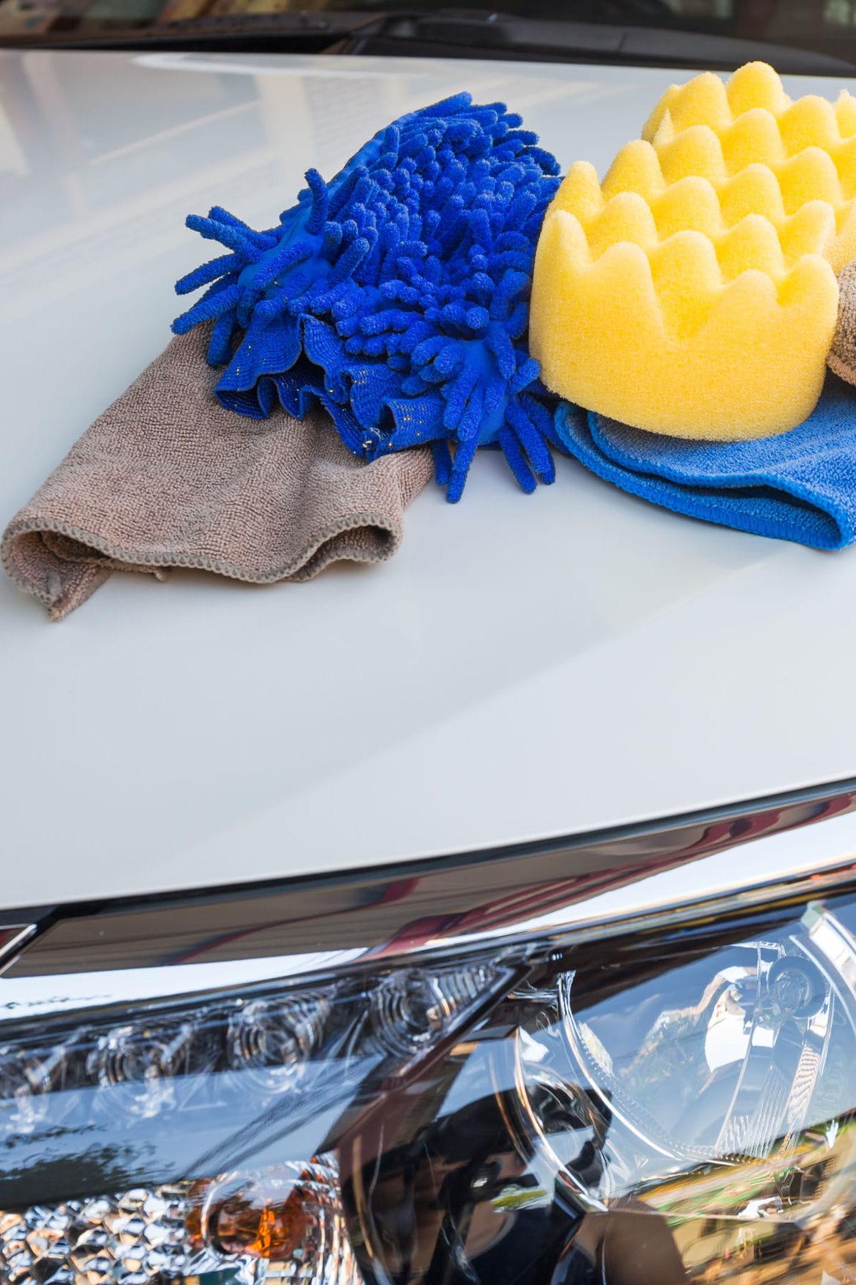 les produits m nagers pour embellir votre voiture linternaute. Black Bedroom Furniture Sets. Home Design Ideas
