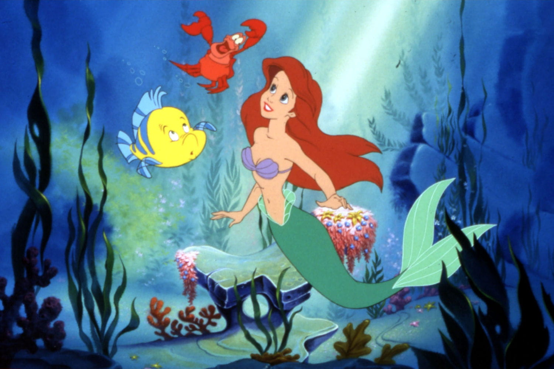 Ariel dans la petite sir ne doit tout son prince de blanche neige vaiana les princesses - Ariel petite sirene ...