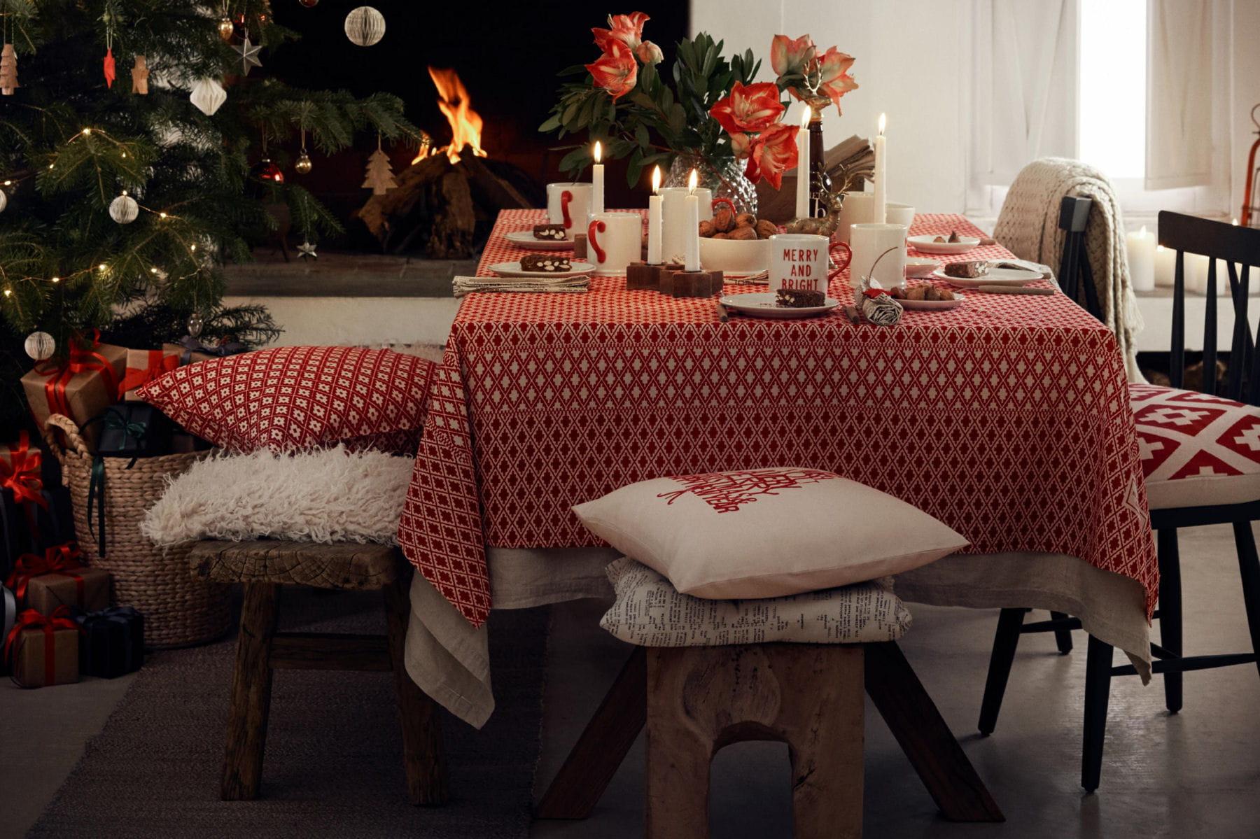 Une d coration de table ambiance chalet de montagne - Deco noel ambiance chalet ...