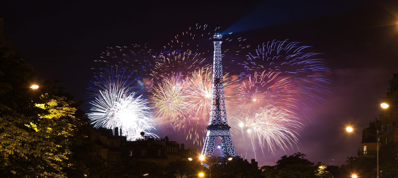 Feu d 39 artifice du 14 juillet le programme paris lille lyon etc - Nouvel an original paris ...