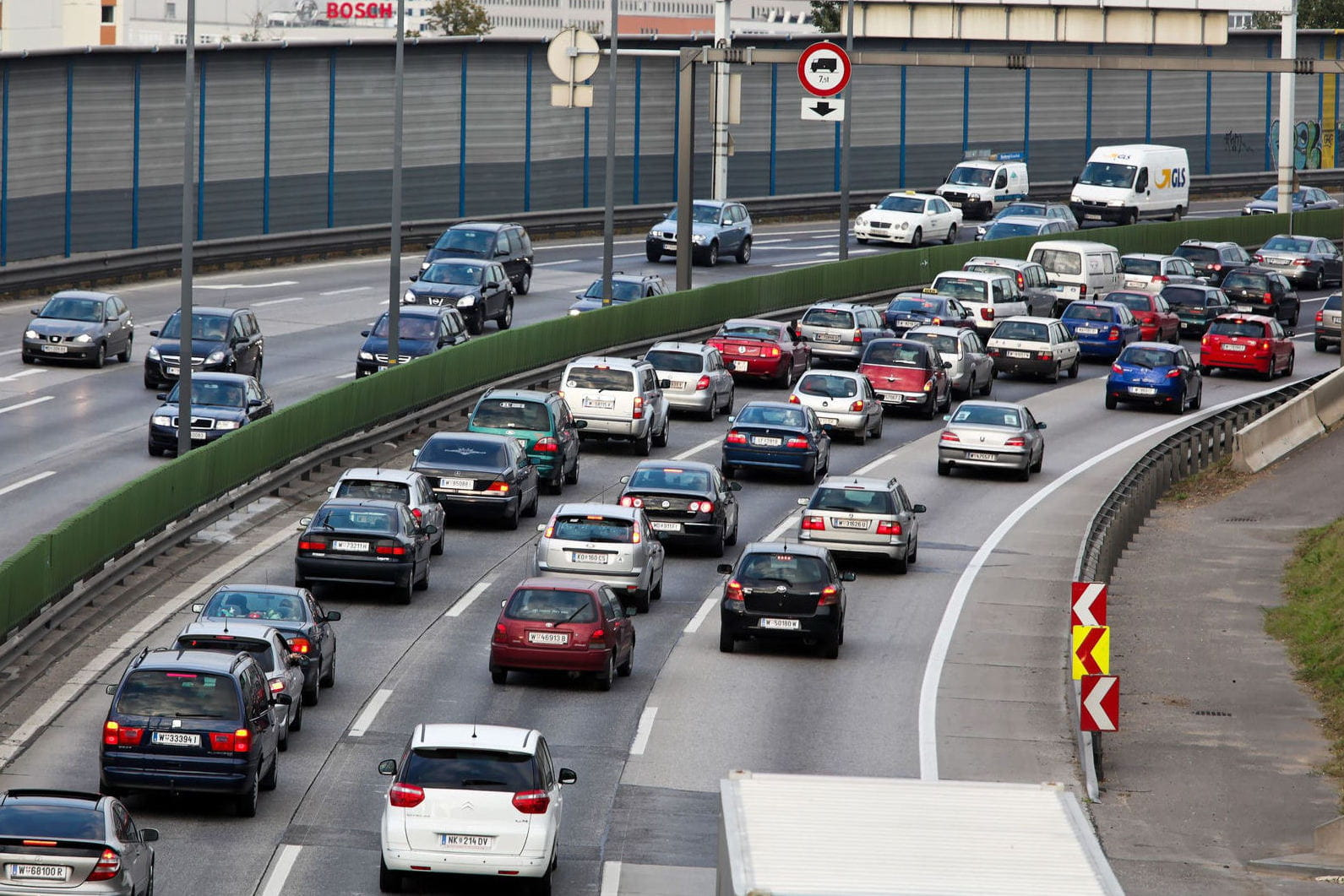 Quelles prévisions de trafic vers les Alpes — Départs en vacances