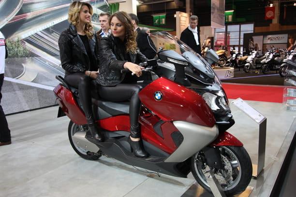 bmw c 650 gt le salon de la moto et du scooter de paris. Black Bedroom Furniture Sets. Home Design Ideas